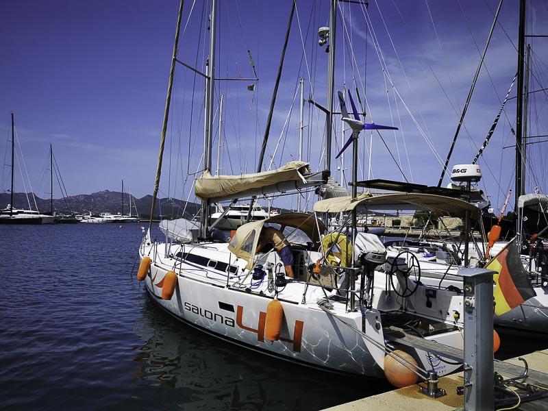 Segeltörn Sardinien - wieder am Abfahrtshafen MOYS angelegt