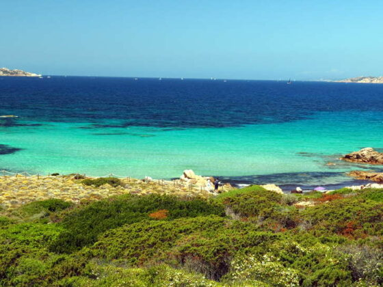 Traumhafter Strand an der Costa Smeralda - Sardinien