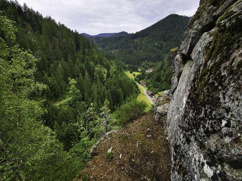 Burgbach Felsen