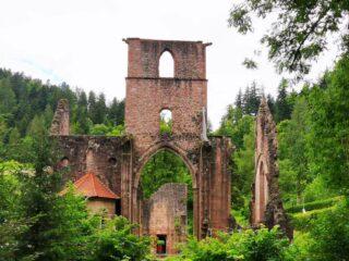 Klosterruine Allerheiligen im Nationalpark Schwarzwald