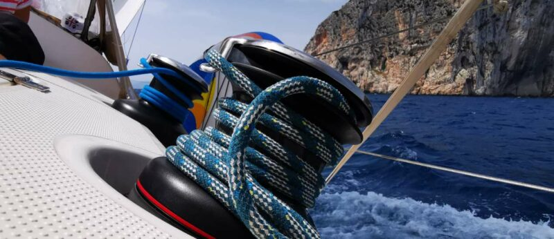 Segeltörn Sardinien - Krängung der GIN
